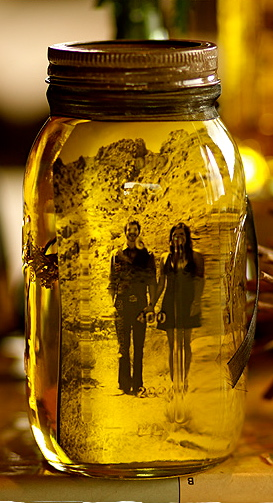 Oil Jar Photo Display