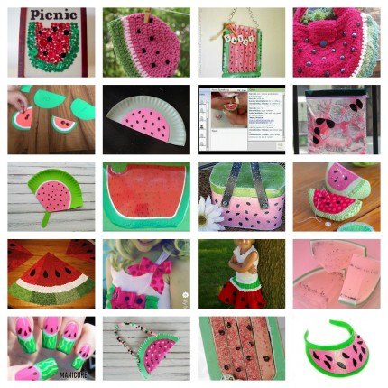 20 Watermelon Crafts